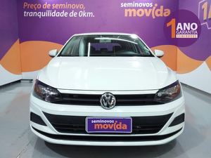 Volkswagen Polo Sedan 1.6 8V Branco 2020