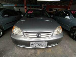 Honda Civic 1.7 LX Cinza 2002