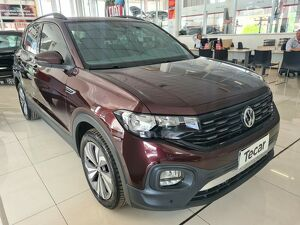 Volkswagen T-cross 1.0 200 TSI Comfortline Vermelho 2019