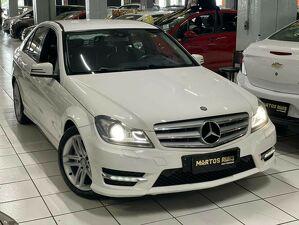 Mercedes-benz C 180 1.6 CGI Sport Turbo Branco 2014