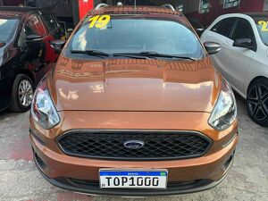 Ford KA 1.5 Tivct Freestyle Marrom 2019