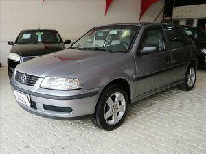 Volkswagen Gol 1.0 16V Cinza 2002