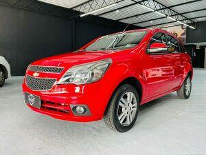 Chevrolet Agile 1.4 LTZ 8V Vermelho 2013