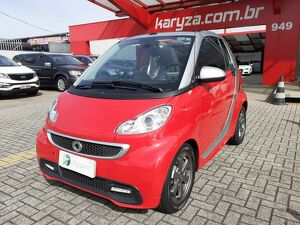 Smart Fortwo 1.0 Coupe 3 Cilindros Vermelho 2014