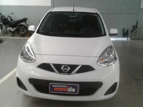NISSAN MARCH 1.0 S Branco 2018