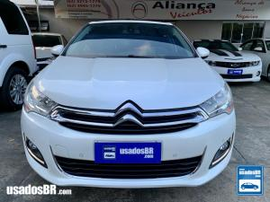 CITROËN C4 LOUNGE 1.6 EXCLUSIVE TURBO Branco 2015
