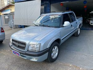 CHEVROLET S10 2.4 ADVANTAGE 8V Prata 2008