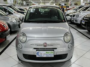 Fiat 500 1.4 Cult 8V Prata 2012