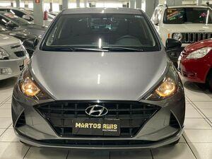 Hyundai HB20 1.0 12V Sense Cinza 2021