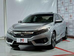 Honda Civic 1.5 Touring Turbo Prata 2019