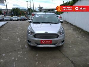 FORD KA 1.5 SE PLUS 16V Prata 2018