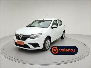 Renault Sandero 1.0 Expression Branco 2020