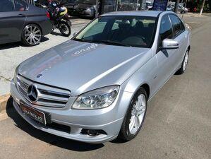 Mercedes-benz C 180 1.8 CGI Turbo Prata 2011