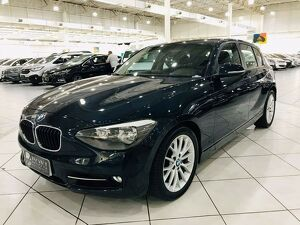 BMW 118i 1.6 Turbo Azul 2013