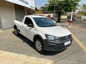 Volkswagen Saveiro CS 1.6 Robust Branco 2018