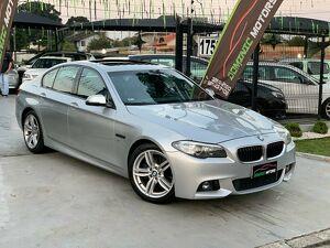 BMW 528i 2.0 M Sport Prata 2014