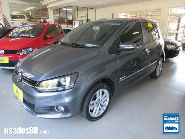 VOLKSWAGEN FOX 1.6 HIGHLINE Cinza 2016