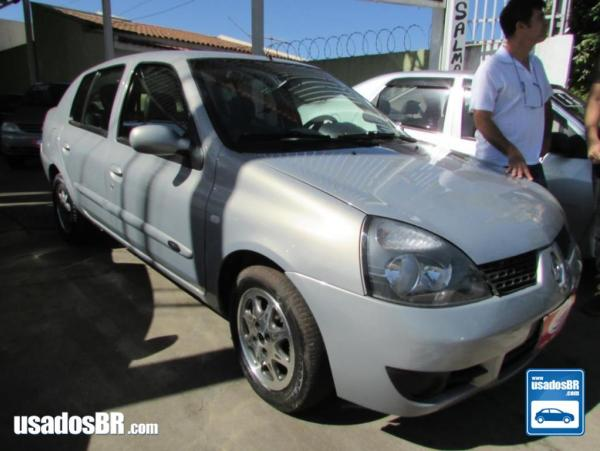 RENAULT CLIO 1.0 AUTHENTIQUE Prata 2008