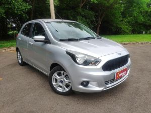 FORD KA 1.0 SE PLUS 12V Prata 2015