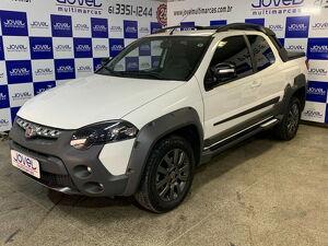 Fiat Strada CD 1.8 Adventure Branco 2020