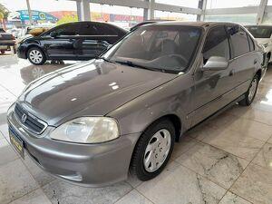 Honda Civic 1.6 LX Cinza 2000