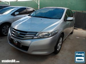 HONDA CITY 1.5 LX Prata 2011