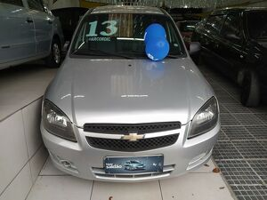 Chevrolet Celta 1.0 Life 8V Prata 2013