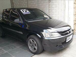 Chevrolet Celta 1.4 Super 8V Preto 2005