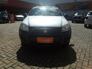 FIAT STRADA CS 1.4 HARD WORKING Prata 2020