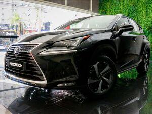 LEXUS NX 300H 2.5 VVT-I HYBRID LUXURY CVT AWD Preto 2020
