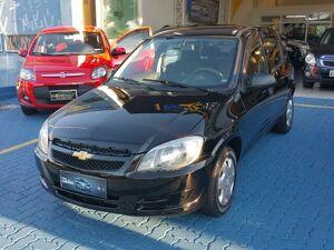 Chevrolet Celta 1.0 LS 8V Preto 2012