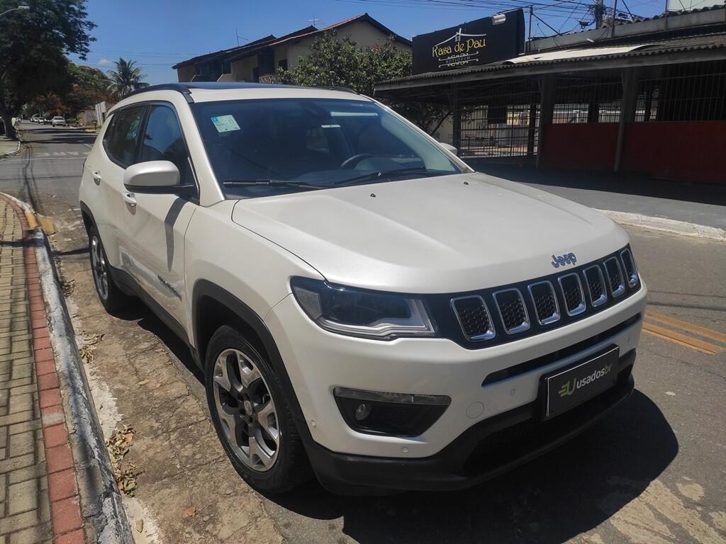 Jeep Compass 2 0 Longitude Branco 2020 2020 Goiania 1132513 Usadosbr Com