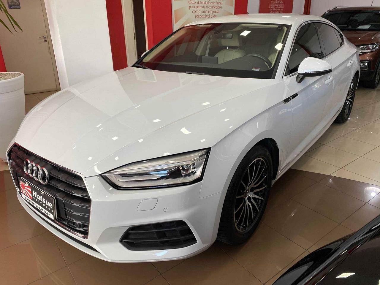 Audi A5 2 0 Sportback Atraction Branco 2017 2018 Santos 1173711 Usadosbr Com